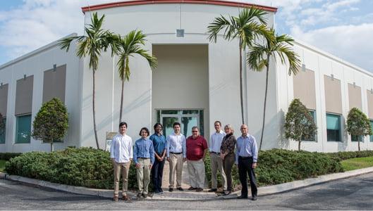 The Daruma Tech team left to right: Alejandro, Abraham, Cecilia, Robby, Rick, Andrew, Susan and Rob