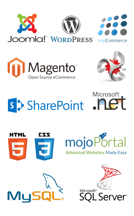 Web Technology Logos