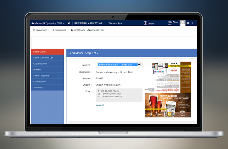 CRM to Print
