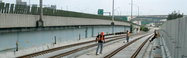 Highway workmen